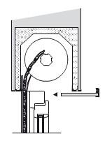 Cassonetto coibentato - Ispezione dal basso 30x30
