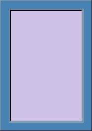Telaio a Z 4 cm colore RAL