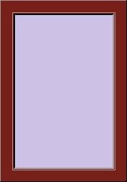 Telaio a Z 6 cm colore RAL